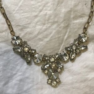 JCrew Diamond Statement Necklace